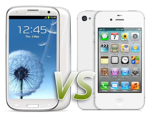 iPhone-4S-vs-Galaxy-S3-comparison