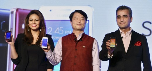 Hyun Chil Hong, Asim Warsi, Huma Qureshi on Tizen Opening