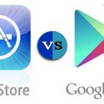 Google play store vs apple store