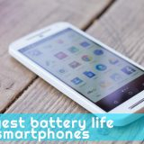 longest battery life smartphones